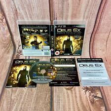 Deus EX REVOLUCIÓN HUMANA Limited Edtion Sony Playstation PS3 15+ Tirador Juego