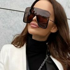 Trending 2020 Oversized Sunglasses Women Driving Outdoor Shades Glasses Eyewear