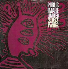 PUBLIC IMAGE LIMITED - DON'T ASK ME.  (UK, 1990, VIRGIN, VS 1231, JOHN LYDON)