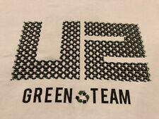 U2 Concert Tour Live Nation Green Team Recycling White T-Shirt Xl Anvil Organic