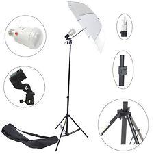 Kit Éclairage Studio Barebulb DynaSun FLS60 Flash Douille Parapluie Trépied Sac