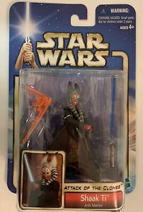 2002 Star Wars AOTC Attack of the Clones Shaak Ti Jedi Master - MOC