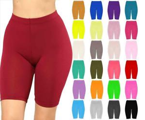 Women Cycling Shorts Gym Dancing Biker Hot Pants Leggings Active Casual Sports