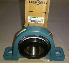 "Dodge P2B-BLMAH-207 Pillow Block Bearing 128484 P28DLMAH207 Shaft 2 7/16"" NEW"