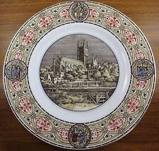 Royal Worcester Worcester Cathedral Restoration Appeal Plate 1989