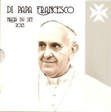 "Malta KMS 2013 im Folder/BU ""Di Papa Francesco"""