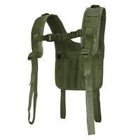 Condor 215 Military Tactical H-Harness Shoulder Battle Belt Suspender OD Green