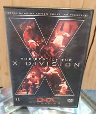 2005 NWA TNA Wrestling; The Best Of The X Division (2 Disc DVD Set)