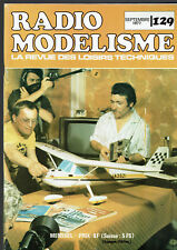 REVUE RADIO MODELISME N°129  1977  VOIR SOMMAIRE   vintage model magazine