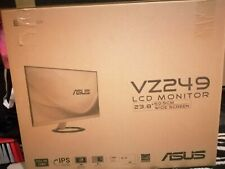"""ASUS VZ249Q Full HD 24"""" IPS Monitor Black and Gold"""