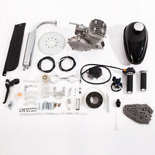 80cc Bike Cycling Motorized Bicycle Engine Motor Kit Muffler Petrol Gas 2-Stroke