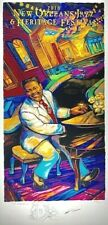 2018 New Orleans Jazz Heritage Fest Festival Fats Domino Remarque