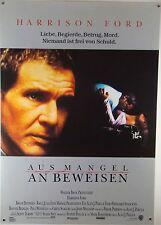 Aus Mangel an Beweisen PRESUMED INNOCENT Filmplakat DIN A1 (gerollt)