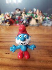 Custom Christmas Ornament PVC PEYO Smurfs Schleich Papa Smurf