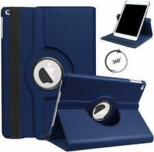 Cover Case for Apple iPad 2 3 4 Leather Folio Rotating stand 360 Auto Sleep Wake