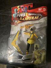 Bandai Power Rangers Samurai Samurai Yellow Earth Ranger Damaged Box