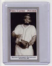 1950 Fidel Castro, Pittsburgh Pirates prospect, pitcher Havana Nacionales Cuba