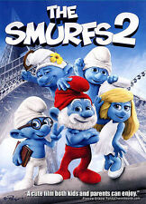 THE SMURFS 2 DVD (2013) Live Action Neil Patrick Harris Hank Azaria NEW