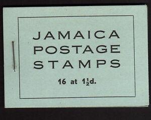 JAMAICA 1946 2/- COMPLETE BOOKLET SB12.