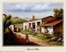 CASA DE VILLA: 10x8 In. Southwest Theme Art Print