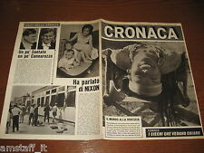 RIVISTA CRONACA=1964/25=COVER WENDY WAGNER=DELITTO ARBUSTO=PONTEDERA=MIRABELLO=