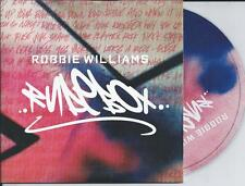 ROBBIE WILLIAMS - rudebox CD SINGLE 2TR EU CARDSLEEVE 2006 TAKE THAT