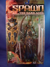 McFARLANE DARK AGES 14 MANDARIN SPAWN the SCARLET EDGE RARE BLUE VARIANT NICE!!!