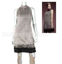 SAVE THE QUEEN DRESS AVANT-GARDE FAUX FUR APPEARANCE SLEEVELESS XL / EXTRA LARGE