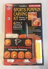 Atlanta Falcons Pumpkin Carving Kit Halloween Stencils for Jack-O-Lantern