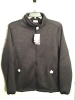 Men's Sherpa Lined Softshell Jacket Size LARGE NEW