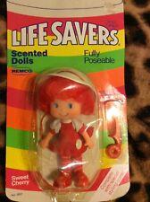 Vintage 1981 Life Savers Sweet Cherry Doll Toy Remco - Nrfp