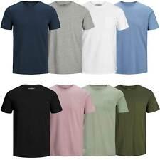 Jack & Jones Herren T-Shirt Jjepocket Tee O-Neck | kurzarm Sport Clubwear Party