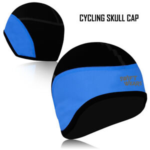 Cycling Skull Caps Windstopper Under Helmet Cycle Winter Thermal Cap One Size UK