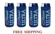 Michelob Ultra Slim Can 4 Cooler Coozie Coolie Koozie Huggie New Bud Budweiser
