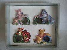 "Disney Store ""Simply Pooh"" Napkin Ring Holders Pooh, Tigger, Eeyore & Piglet"