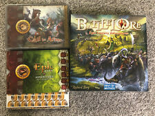 BattleLore 1st Edition (NOT Complete) w/ 2 Complete Expansions Epic Call to Arms