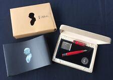 """Ltd. Edition Delta """"Gaius Julius Caesar"""" fountain pen w/ box and papers"""