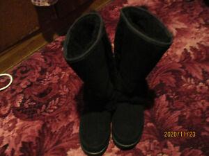 real sheep skin boots