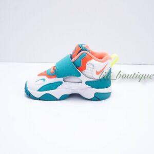 No Box New Nike BV2525-101 Speed Turf Sneakers Toddler Shoe White Mango Green 8C