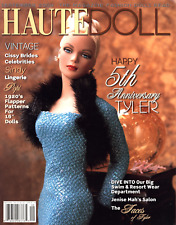 HAUTE DOLL 2004 SEPTEMBER VINTAGE CISSY BRIDES SYDNEY TWINS CROCHET CLOTHES