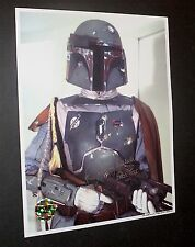 BOBA FETT  / JEREMY BULLOCH  / ICONIC IMAGE / EXCELLENT PHOTO SIGNED IN PERSON