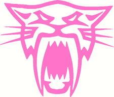 arctic cat face decal window or bumper sticker artic