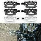 Motorcycle Foot Pegs Footrest for Harley Dyna Sportster Softail Cat Prints Style