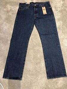 Men's Levi 501 Jeans W36 L32 Blue Brand New with Tags