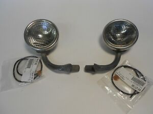 1930-31 Ford Model A Cowl Lamp Assemblies, used
