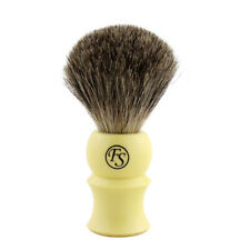 FS Density Silvertip Badger Hair Shaving Brush +Drip Stand
