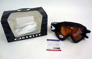 Mikaela Shiffrin 2018 Olympics Signed Autograph Oakley Ski Goggles PSA/DNA COA