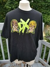 Vintage D-Generation DX Cartoon Wrestling Event TShirt NWO WWE WWF Suck It!
