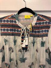 20. NWT Roberta Roller Rabbit Serafina Ethnic Tunic Dress M