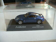 J Collection Nissan 350Z Coupe in Blue on 1:43 in Box